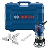 BOSCH GKF125CEK Colt 1.25 HP (Max) Variable-Speed Palm Router Kit with Edge Guide