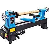 Mophorn Wood Lathe 12 x 18 Inch,Bench Top Heavy Duty Wood Lathe Variable Speed 500-3800 RPM, Mini...