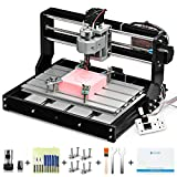 Genmitsu CNC 3018-PRO Router Kit GRBL Control 3 Axis Plastic Acrylic PCB PVC Wood Carving Milling...