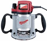 Milwaukee 5625-20 15 Amp 3-1/2-Horsepower Fixed Base Variable Speed Router with T-Handle Height...