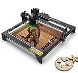 A5 Laser Engraver CNC 20W, Laser Engraving Cutting Machine 5000mw, Fixed-Focus Eye Protection DIY...