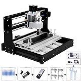 Upgrade Version CNC 3018 Pro DIY Mini CNC Router Machine Kit 3 Axis Milling Cutter Machine Wood...
