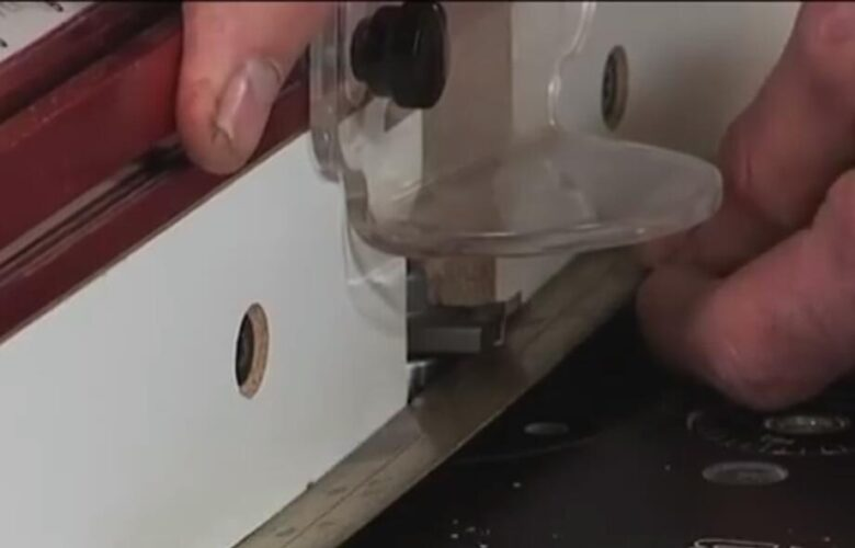 How to use a tongue and groove router bit