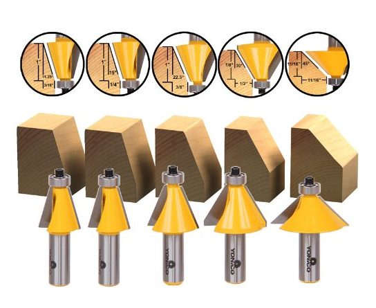 What kind of router bit to trim laminate