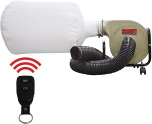 BUCKTOOL Dust Collector With Remote Control