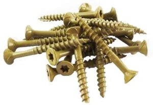 WoodPro Fasteners AP8X2-5 T20 5-Pound Net Weight 8 by 2-Inch All Purpose Wood Construction Screws